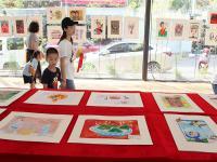 """<strong>魅力中国·多彩非遗""""中国儿童画国际巡展国内汇报展在重庆熊婆婆的花园举办</strong>"""