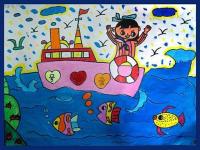 儿童应该怎样学美术