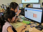 艾谛儿童编程针对6-16岁阶段的青少年儿童提