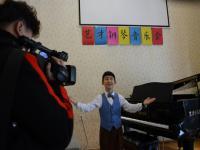 祖国花朵在长沙艺才少儿教育用钢琴添彩