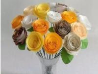 教你如何亲手做一束五颜六色的玫瑰,送给你爱的人