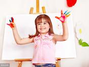 <strong>少儿艺术教育启发的好,对孩子有很大好处</strong>