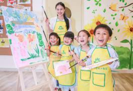 七彩岛少儿美术——致力于通过平面创意美术