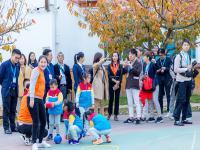 日本藤幼儿园园长加藤积一带领日本幼教考察团到访北京方庄红黄蓝幼儿园